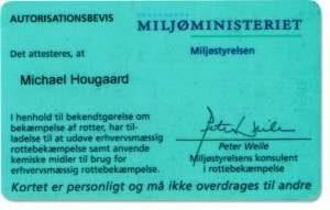 Autoriseret rottebekæmpelse - rottecertifikat til skadedyrsbekæmper