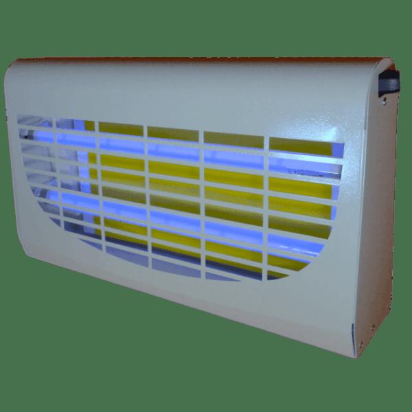 Billig insektlampe med limplade